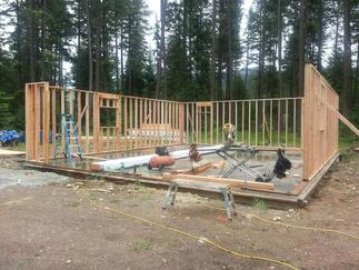Building a homestead in north Idaho